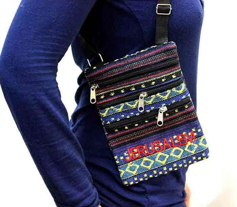 Jerusalem Colorful oriental hand bag