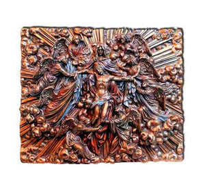 Ascension of Jesus | *Bronze Plaque - Free shipping