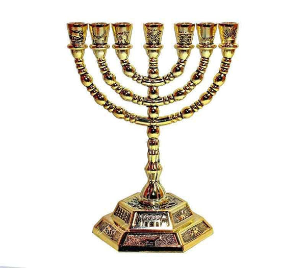 The Temple Menorah - replica
