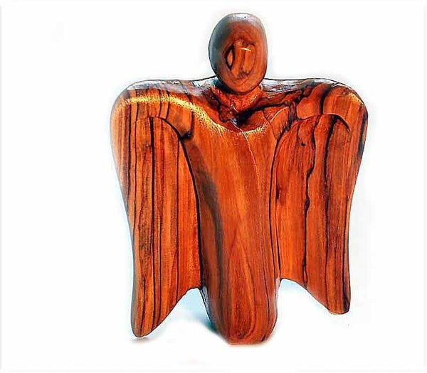 Olive wood Angel
