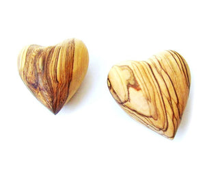 Olive wood Heart souvenir