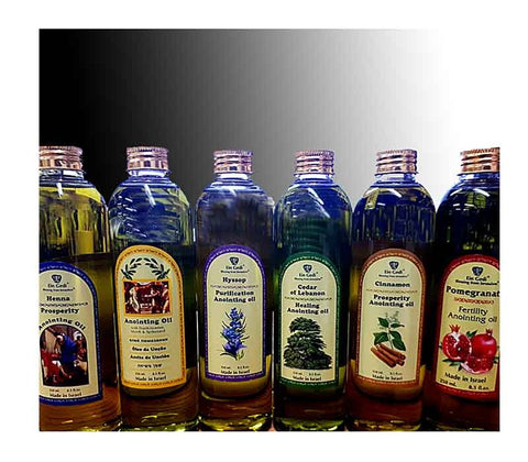 Anointing Oil -  Ein Gedi Set of 6 bottles 250 ml - Free shipping