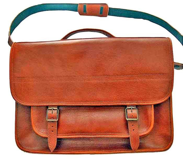 Jerusalem Brown Satchel bag