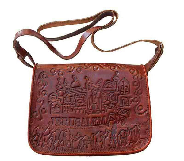 Leather bag Jerusalem