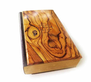 Old Holy Bible KJV from 1976 / Olive wood cover
