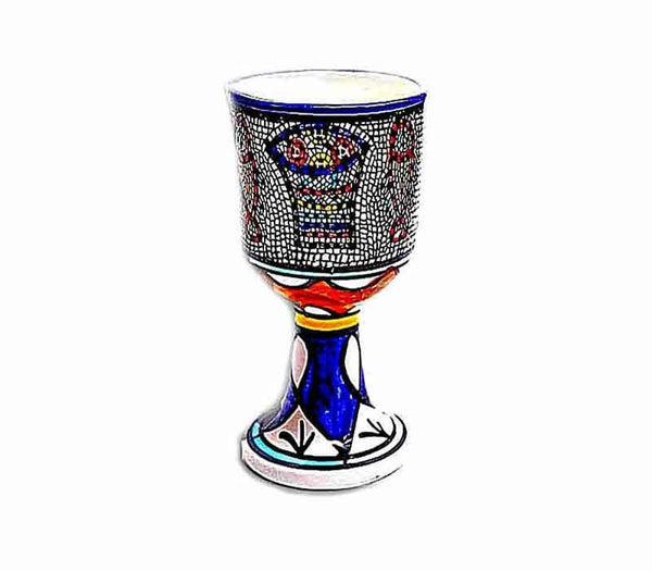 Loaves and Fish goblet | Ceramic | Free shipping