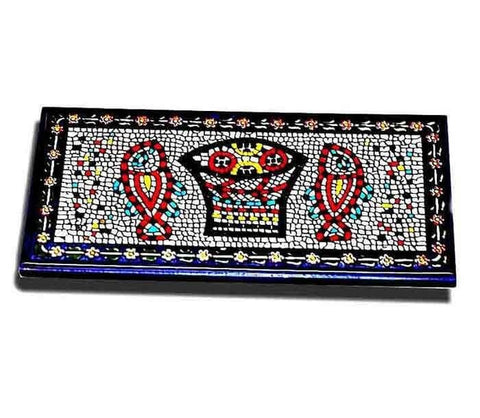 Loaves & Fish Armenian tile | Free shipping