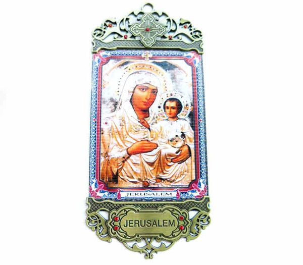 Icon of Mary of Jerusalem & Baby Jesus