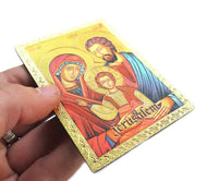 Icon magnet of Holy Family