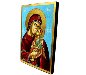 Mother Mary & Baby Jesus Icon