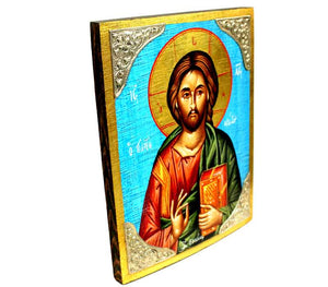 Jesus Icon | Silver ornaments