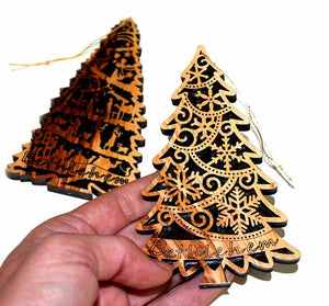 Christmas ornaments 2 pieces set