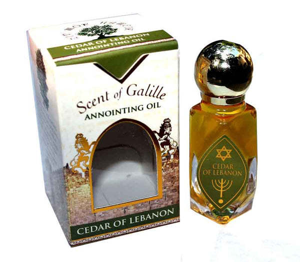 Scent of Galille - Ceder of Lebanon -  Anointing oil