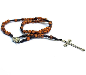 Hand Rosary small beads | Olive wood
