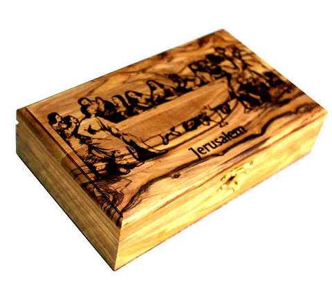 Jewelry Box | olive wood from Bethlehem