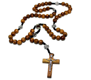 Unique Olive wood Rosary