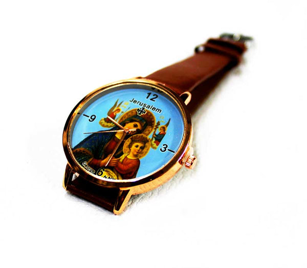 Mother Mary & baby Jesus watch
