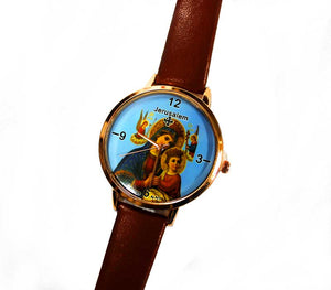 Mother Mary & baby Jesus watch | Free shipping