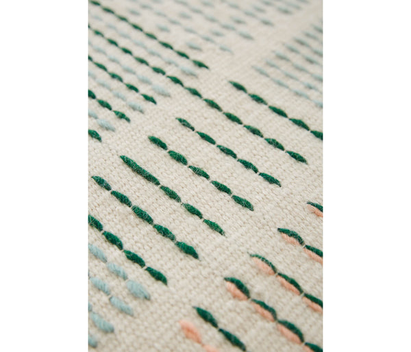 galeahome.myshopify.com Gan Rugs Alfombra Backstitch Composition Raw Edges