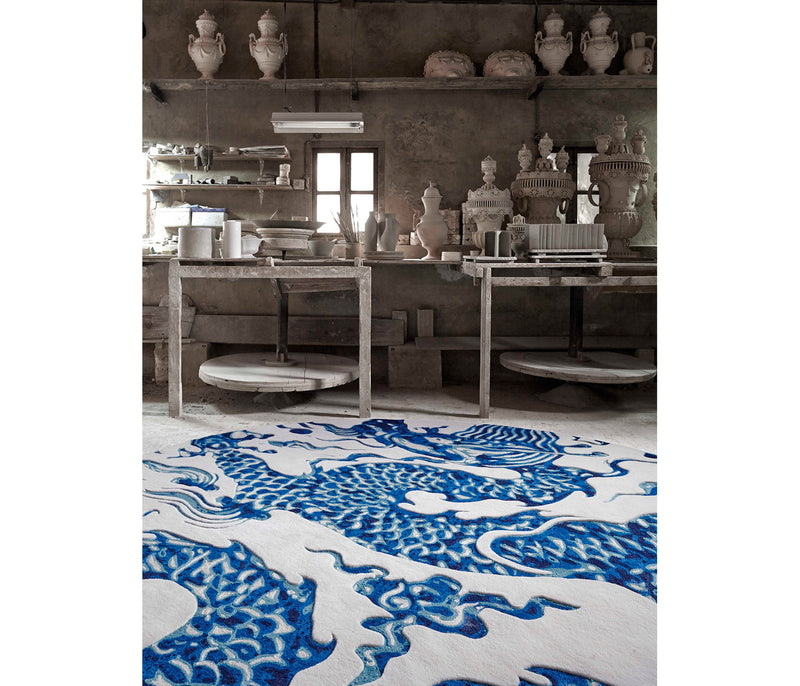 Alfombra Blue China Mapi Millet