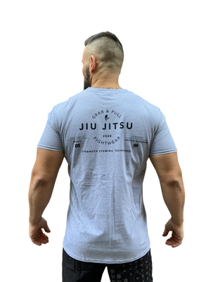 Jiujiteiro T-shirt, Grey