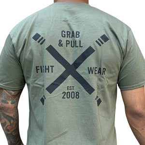 The X T-shirt, Military Green