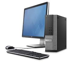 "Dell Optiplex 7020 Desktop Bundle Intel Quad Core i7 3.4Ghz with 24"" Monitor Windows 10 Pro Refurbished"