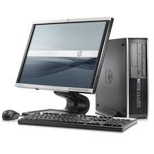"HP Elite 8200 Desktop Bundle Core i5 3.1GHz  8GB 1TB 24"" Monitor Windows 10 Refurbished"