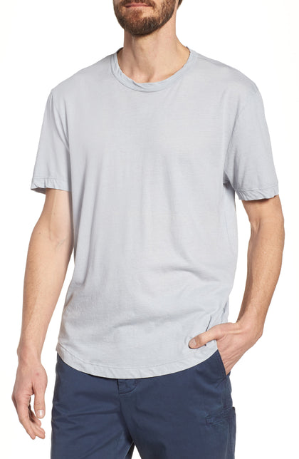 James Perse Clear Jersey Short Sleeve Crewneck T-Shirt-Atmark Trading
