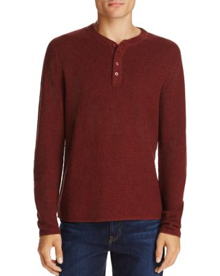 Original Penguin Long Sleeve Waffle Henley - 100% Exclusive-Atmark Trading