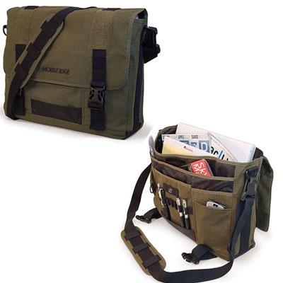 Mobile Edge Eco-Friendly Canvas Msgr Green-Atmark Trading