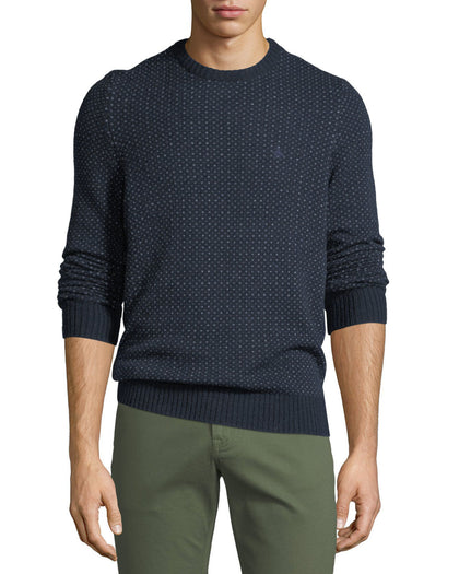 Original Penguin Men's Wool-Blend Speckle Sweater-Atmark Trading