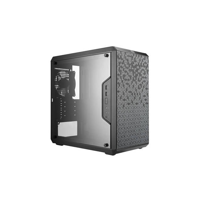 Cooler Master MASTERBOX Q300L No Power Supply MicroATX Mini Tower Case w- Window