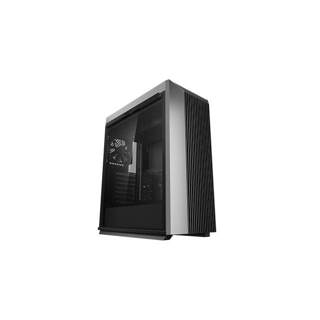DeepCool CL500 Mid-Tower ATX Case High Airflow Mesh Front Panel I-O USB Type-C port Tempered Glass Magnetic Side Panel Built-In Fan Hub and Graphics-Atmark Trading
