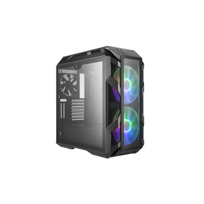 Cooler Master H500M No Power Supply ATX Mid Tower w- Window (Iron Grey)-Atmark Trading