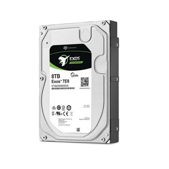 Seagate Enterprise Capacity ST8000NM000A 8TB 7200RPM SATA 6.0GB-s 256MB Enterprise Hard Drive (3.5 inch, Exos 7E8 HDD 512e SATA)