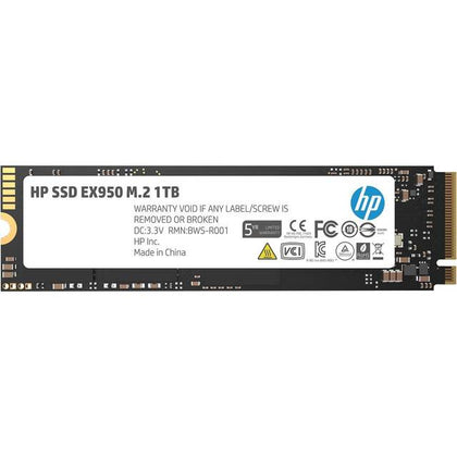 HP EX950 Series M.2 2280 1TB PCI-Express 3.0 x4 NVMe1.3 3D Internal Solid State Drive-Atmark Trading