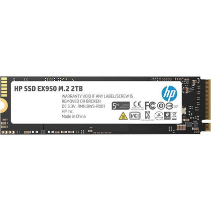 HP EX950 Series M.2 2280 2TB PCI-Express 3.0 x4 NVMe1.3 3D Internal Solid State Drive-Atmark Trading