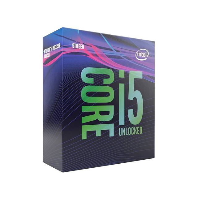Intel Core i5-9600K Coffee Lake Processor 3.7GHz 8.0GT-s 9MB LGA 1151 CPU, Retail-Atmark Trading