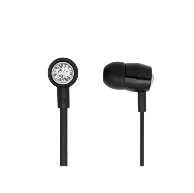 Bornd T620 Wired 3.5mm In-ear Stereo Earphone w- Microphone (Black)