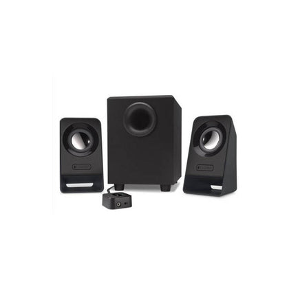Logitech Z213 Wired 3.5mm-7 Watts-2.1 Channel Speaker System