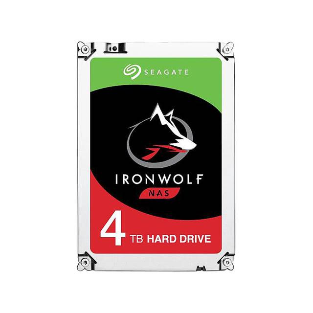 Seagate IronWolf NAS ST4000VN008 4TB 5900RPM SATA 6.0 GB-s 64MB Hard Drive (3.5 inch)