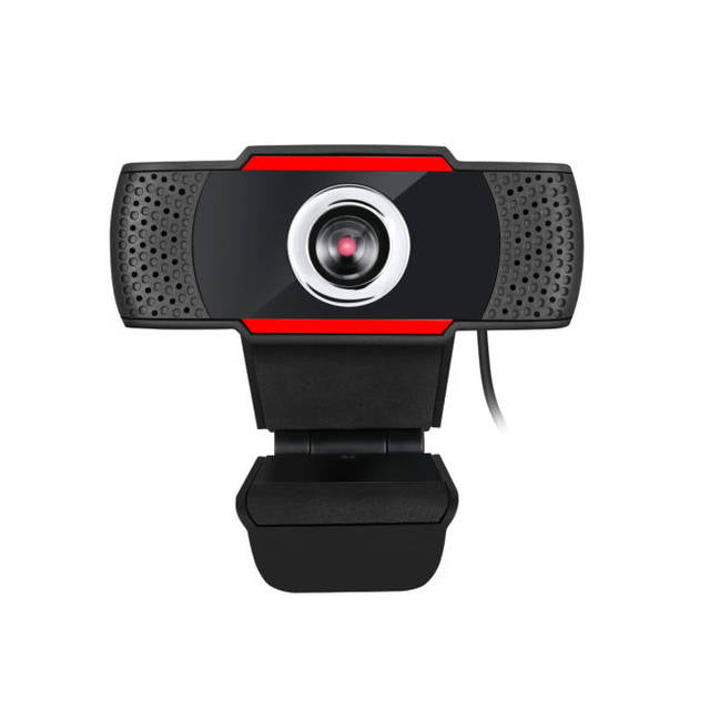 Adesso CYBERTRACK H3 720P HD USB Webcam with Built-in Microphone-Atmark Trading