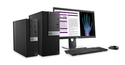 Dell OptiPlex 5050 Bundle Intel Quad Core i5-6500 3.2GHz with 22