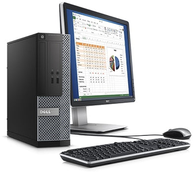 Dell Optiplex 3020 Certified Refurbished Bundle Core i5 3.2Ghz with 22
