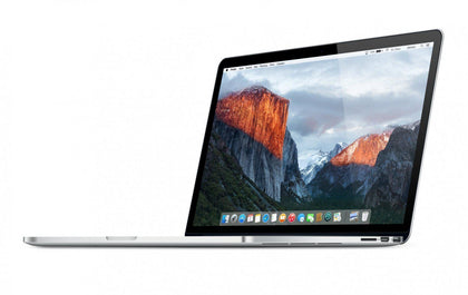 Apple Macbook Pro 15 Mid 2015, Intel Quad Core i7 2.8Ghz 16GB 256GB SSD ATI Radeon R9 MX370 2GB Refurbished-Atmark Trading