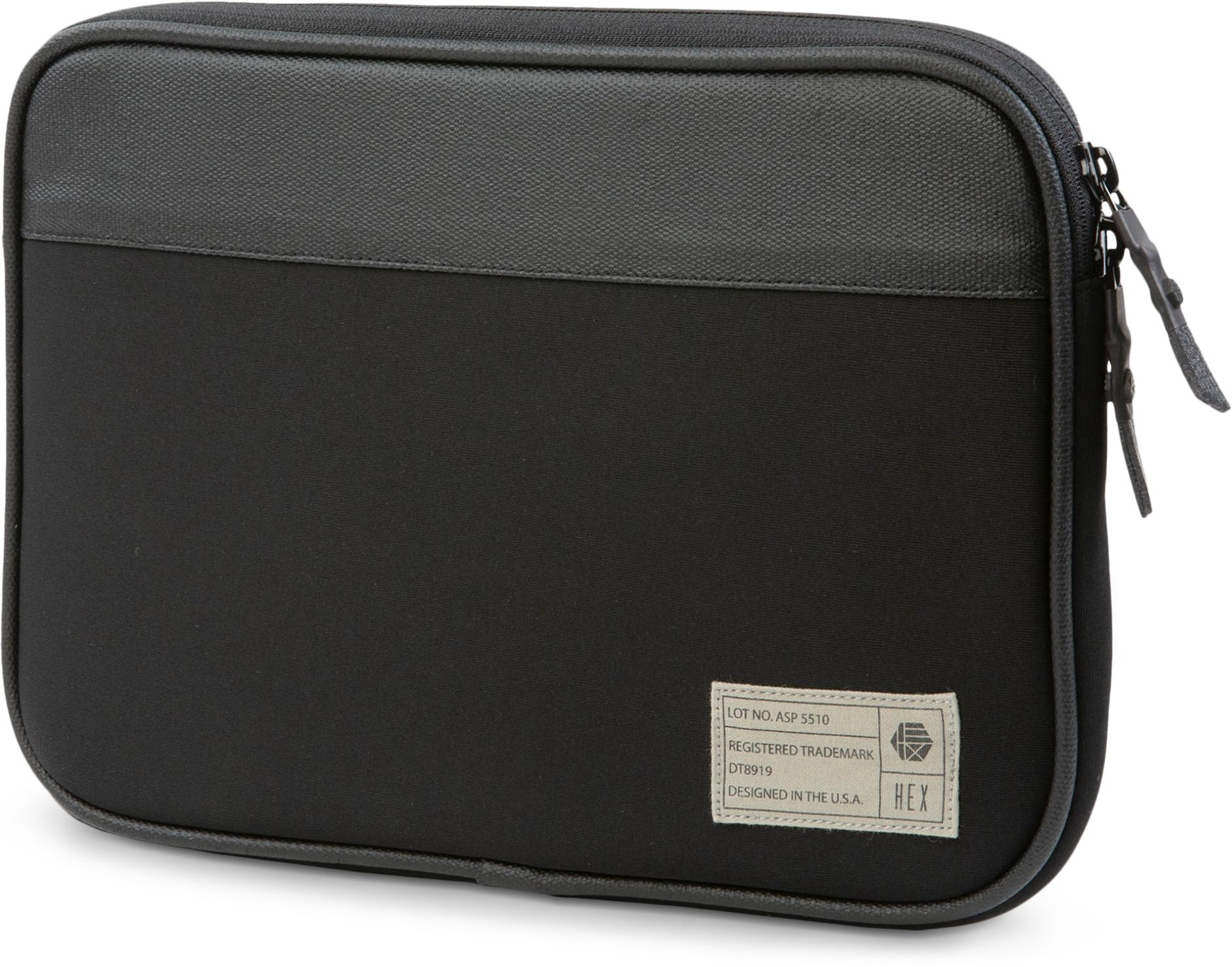 "HEX 10"" Mona Tablet Sleeve in Black"