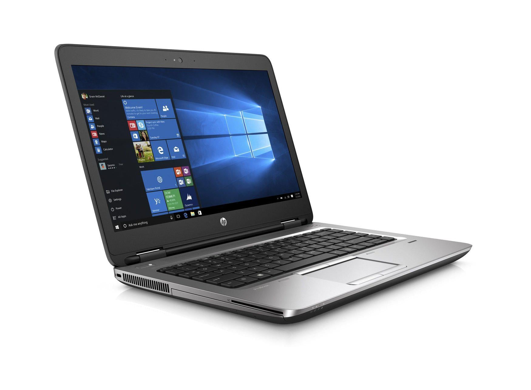 "HP Probook 640 G1 14"" Certified Refurbished Laptop Core i5 2.6Ghz 5 Year Warranty Windows 10"