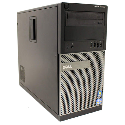 Dell Optiplex 790 Mini Tower, Intel Quad Core i5-2400 3.1Ghz 4GB 500GB, Windows 10 Pro, Refurbished-Atmark Trading