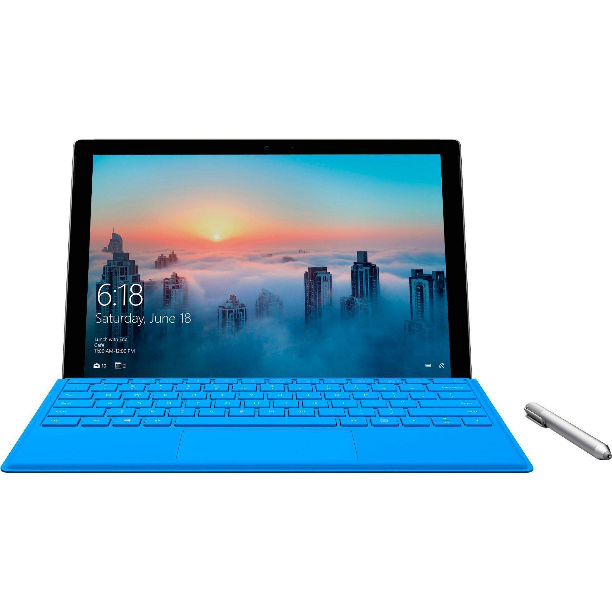 "Microsoft Surface Pro 4 Intel 6th Gen Core I5 4GB 128GB 12.3"" tablet"
